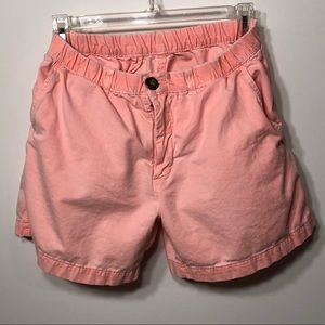 Chubbies Shorts Peach Coral size Small